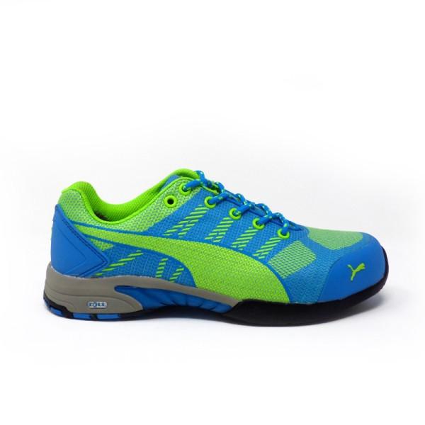 Chaussures de sécurité Femme PUMA celerity bleu S1P
