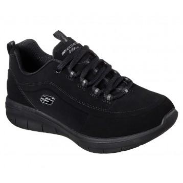 Chaussures de travail femme Skechers noires