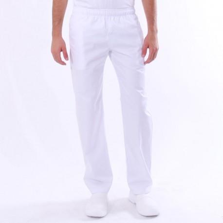 Pantalon de Cuisine Blanc pas cher