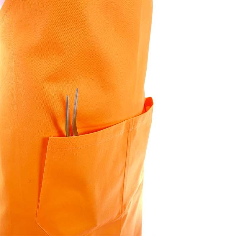 tablier a bavette grandes poches