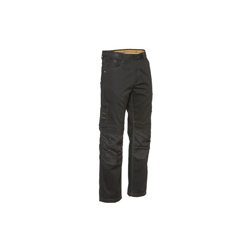 3efc7b9c01b56e Pantalon de Travail homme Noir Custom Lite - Caterpillar