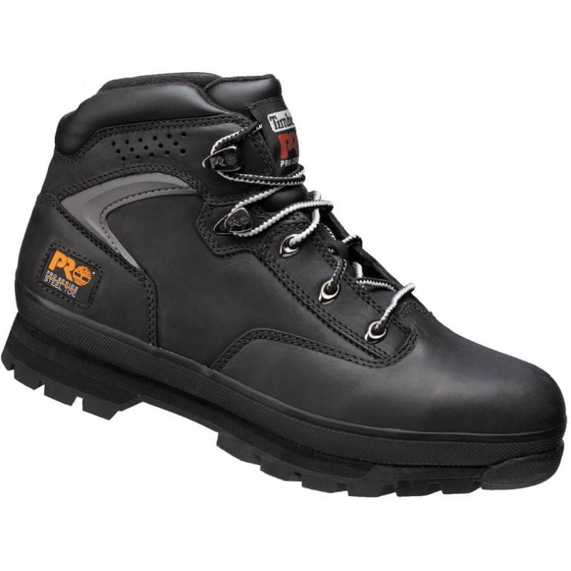 Chaussures de securité Timberland Pro Euro Hiker 2G noir, coque de sécurité très résistante
