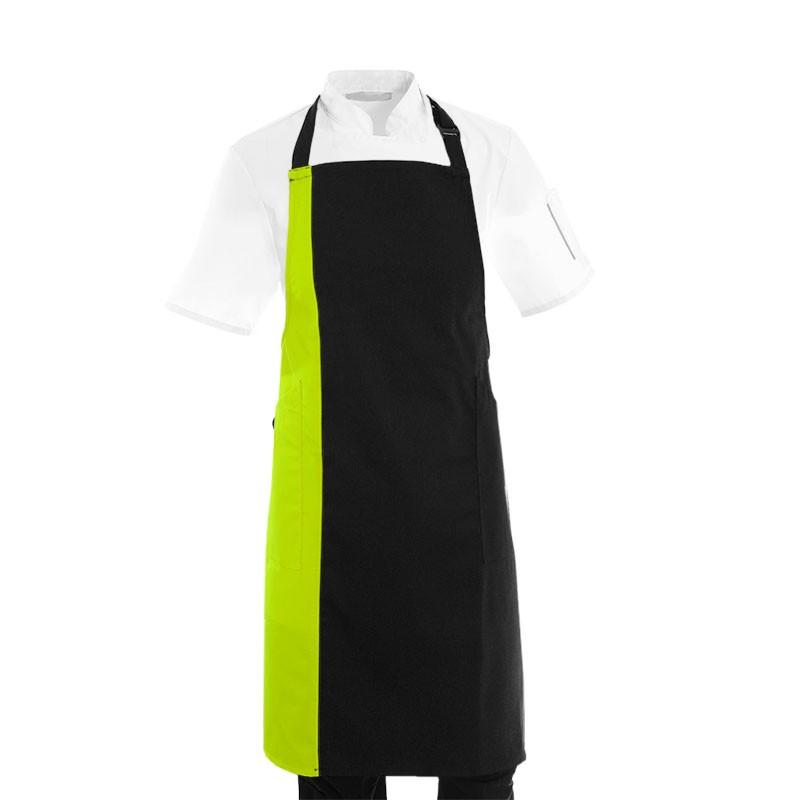 Tablier de cuisine femme vert anis
