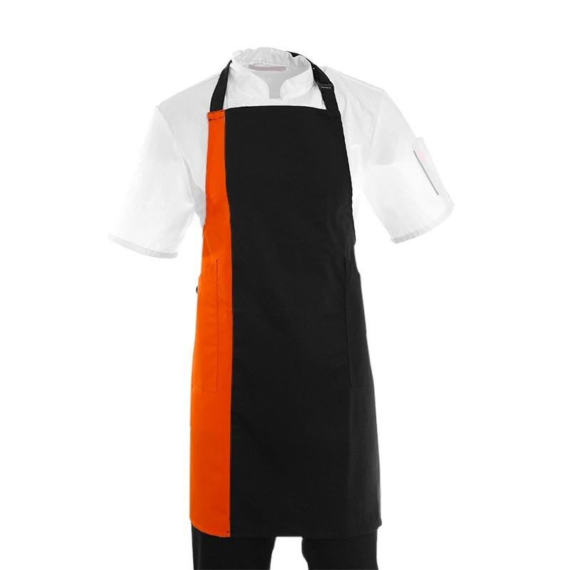 Tablier de cuisine femme orange