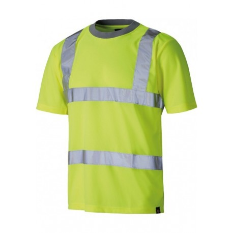 Tee shirt de travail jaune...