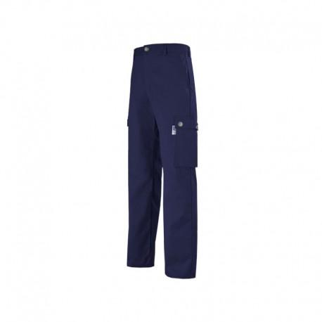 Pantalon de travail bleu pour homme