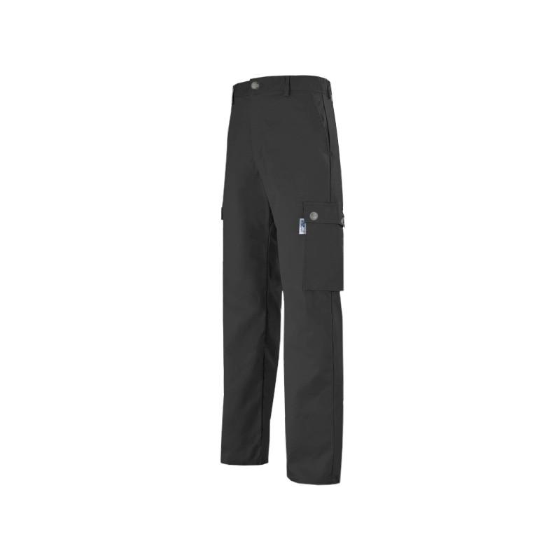 pantalon  de travail gris foncé de marque Manelli