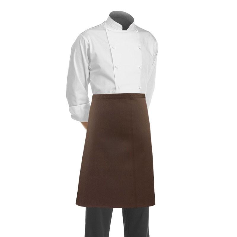tablier restauration marron marque Manelli
