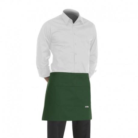 tablier de cuisine vert ou tablier de service vert de 40cm