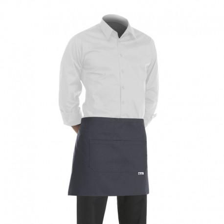 tablier de cuisine ou de service gris pas cher et resistant