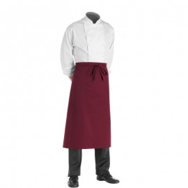 Tablier Bordeaux Long Chef 90cm
