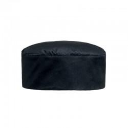 Calot de patissier - noir ou blanc 100% coton