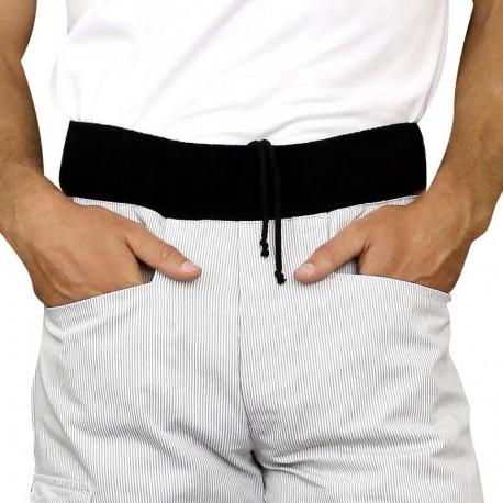 Pantalon de boulanger confortable cordon de serrage