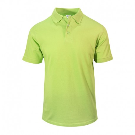 Polo homme vert clair style serveur