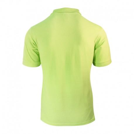 Polo homme de couleur vert clair manches courtes