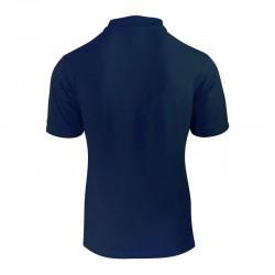 Polo bleu marine homme vue de dos