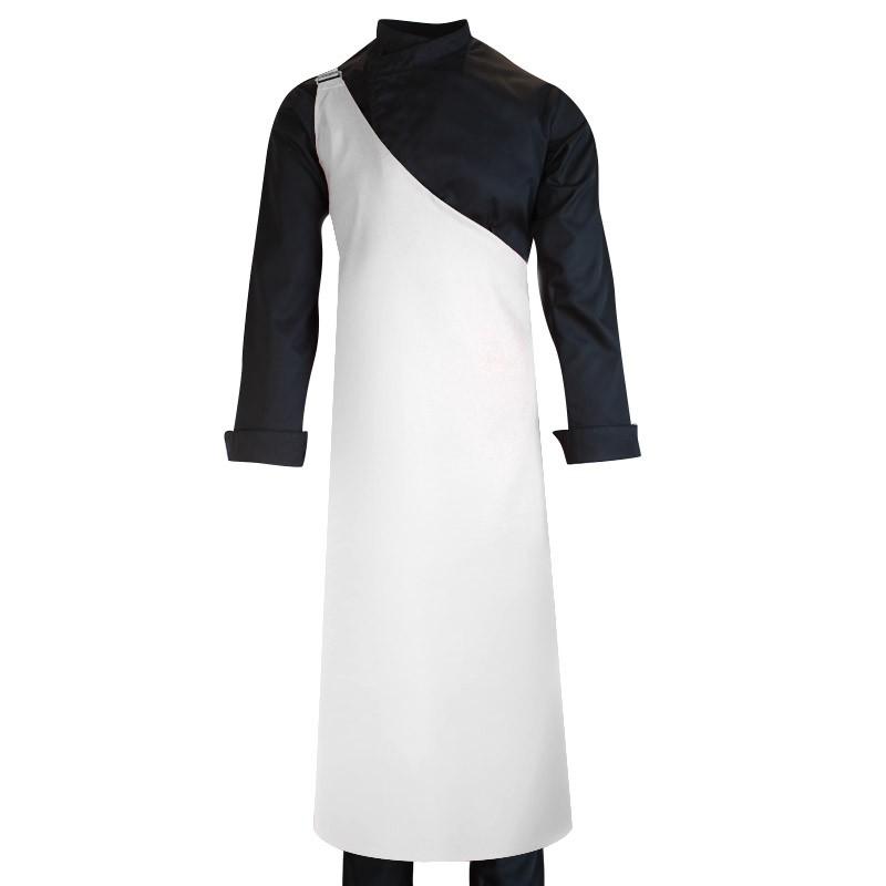 Tablier De Boucher Blanc Seyant