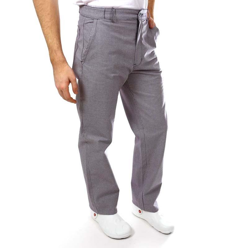 Pantalon De Boulanger Pied De Poule Homme