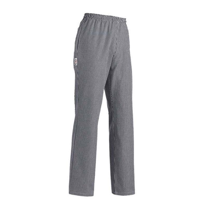 Pantalon de pâtissier Carreaux Noirs Hommes