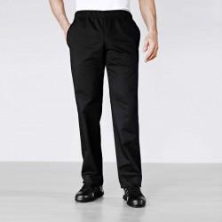 Pantalon de pâtissier Noir Bragard Confortable