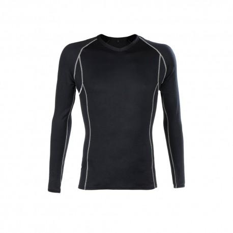 Tee-shirt à manches longues isotherme noir de la marque coverguard