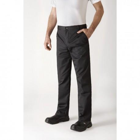 Pantalon de cuisine Timeo noir de la marque Robur