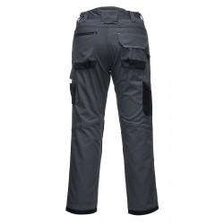 Pantalon de sécurité gris noir vue de dos Portwest