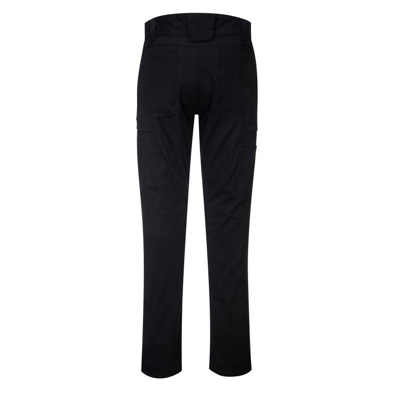 Pantalon de travail Portwest noir pour homme