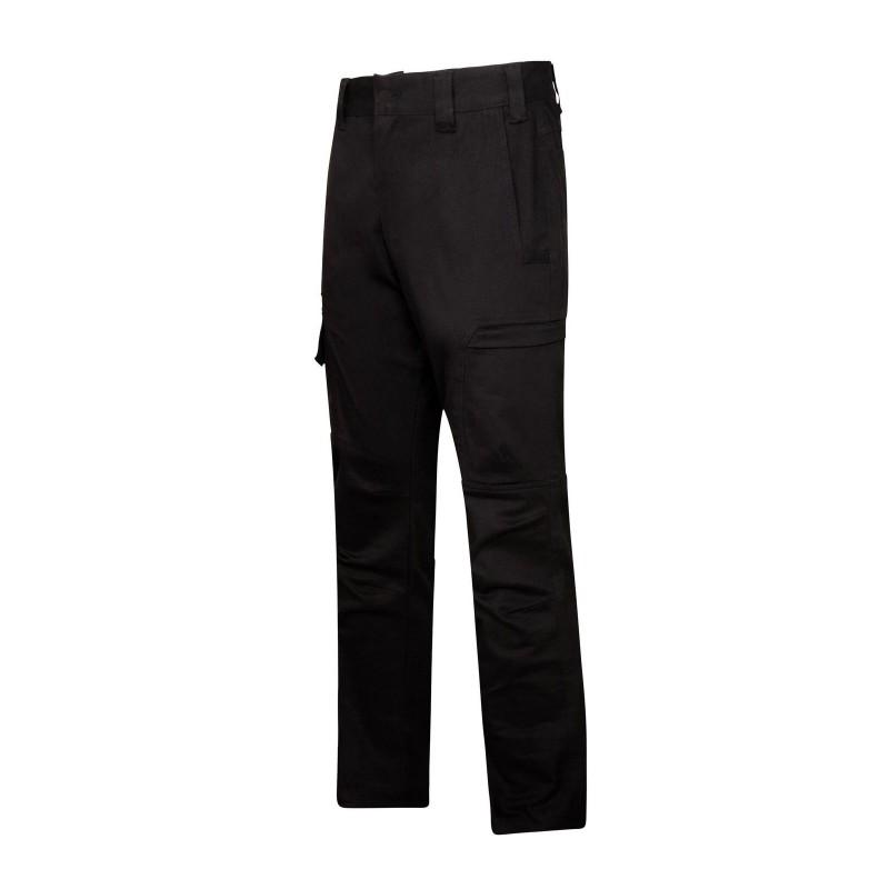 Pantalon de travail noir pour homme Portwest vue poches