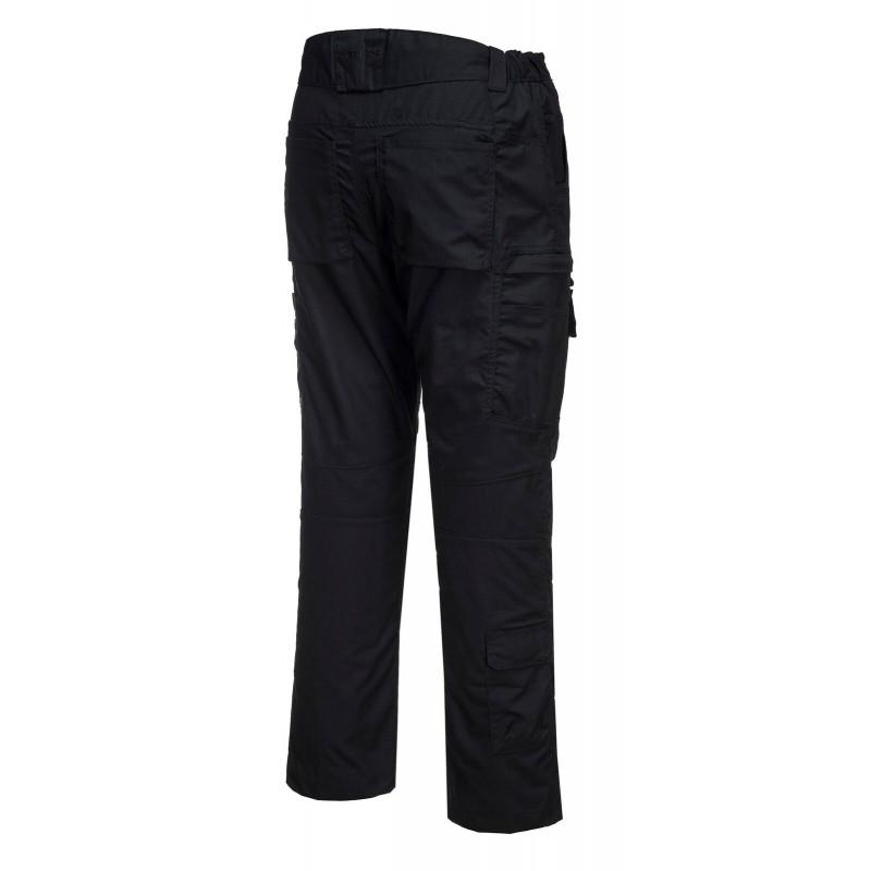 Pantalon de sécurité Portwest poche zip noir