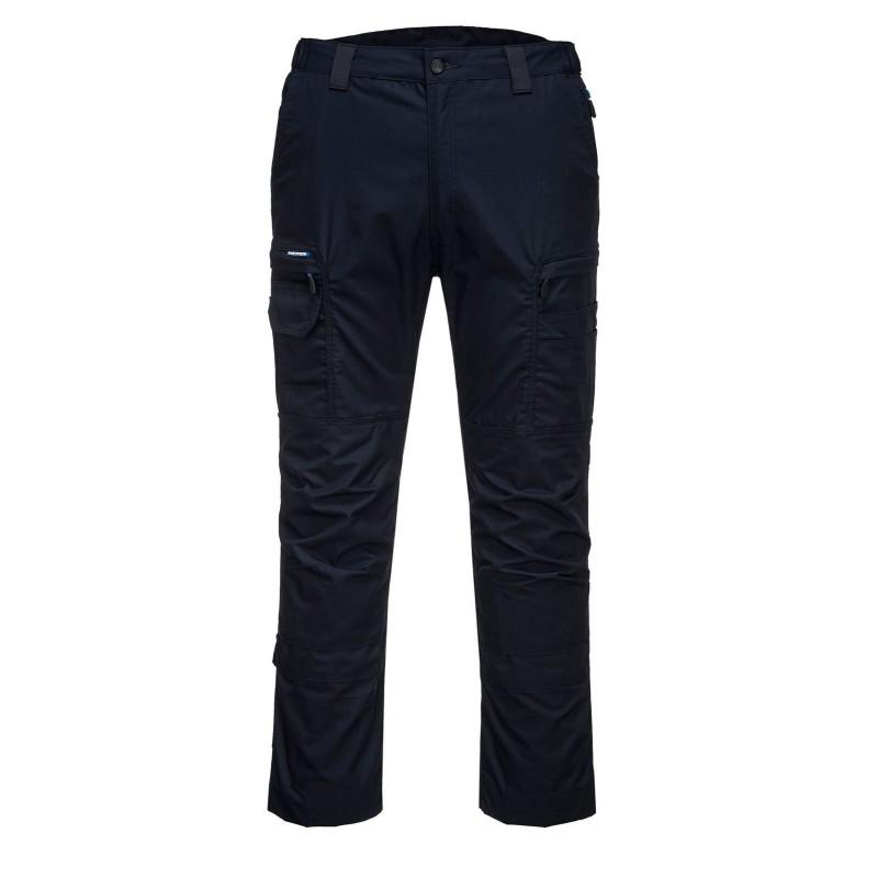 Pantalon de sécurité Bleu marine Portwest devant