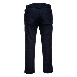 Pantalon de sécurité Portwest bleu marine dos