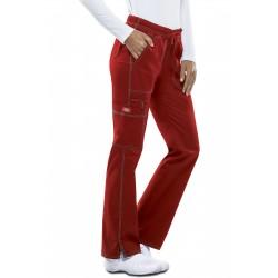 Pantalon pour femme Dickies taille basse rouge