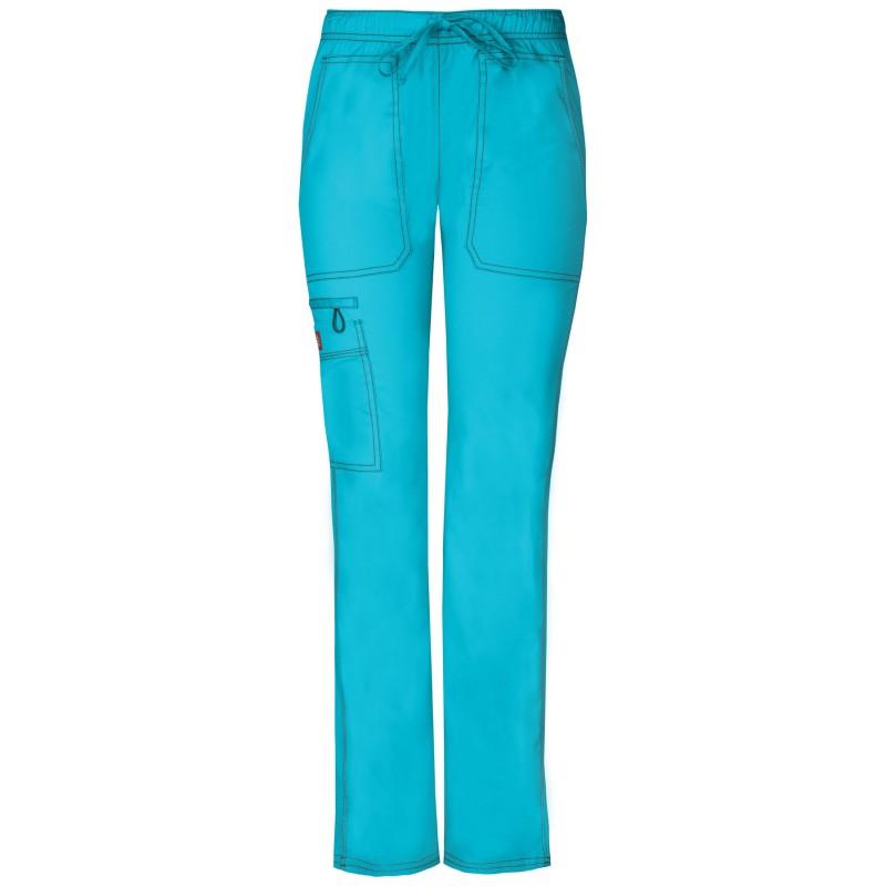 Pantalon médicale de couleur bleu pour femme Dickies