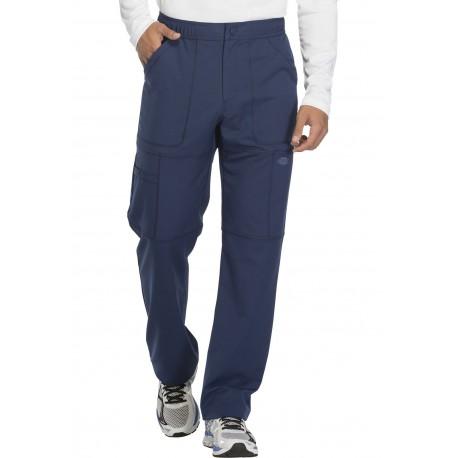 Pantalon médical bleu marine pour homme marque Dickies