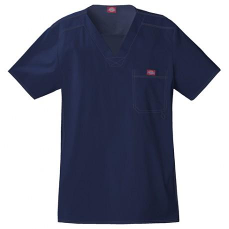 Blouse médicale pour homme de la marque Dickies Bleu marine