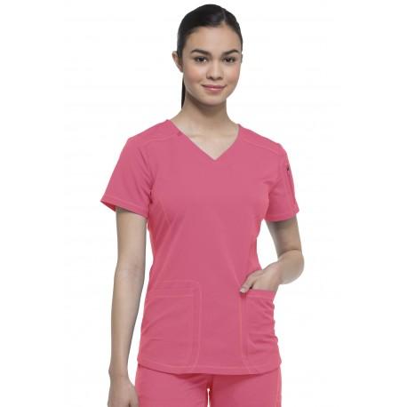 Blouse médicale Femme de couleur rose