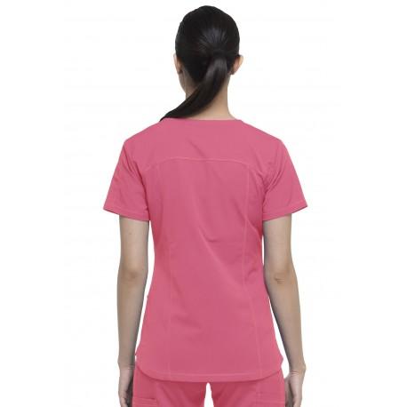 Blouse médicale Femme marque Dickies de couleur rose