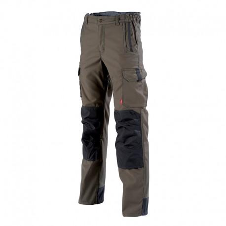 Pantalon de travail Marron Hakan Lafont
