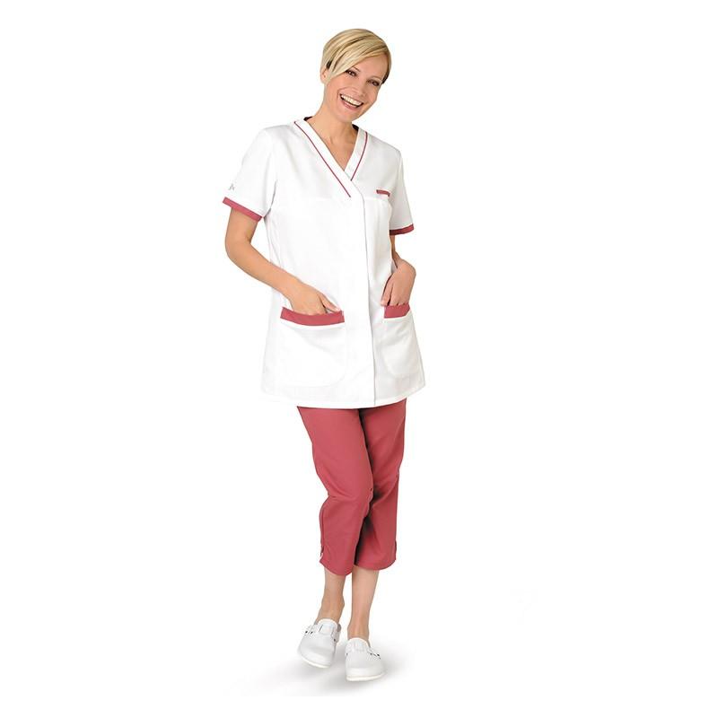 Pantalon Lafont Médical rose cassis