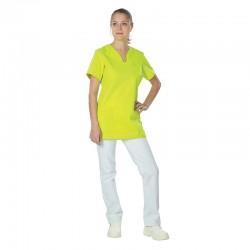 Tenue médicale verte et blanche Clemix By Lafont