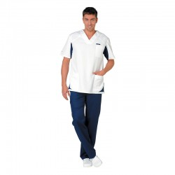 Pantalon médical bleu marine Clemix by Lafont