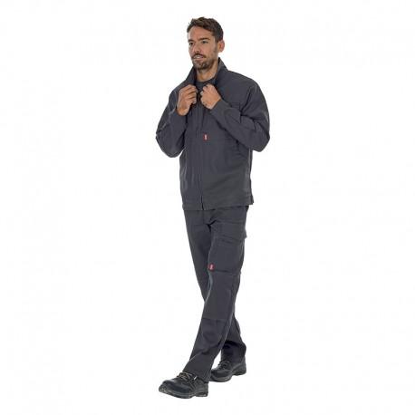 Tenue complète de travail Pantalon Lafont Gris en coton/Polyester