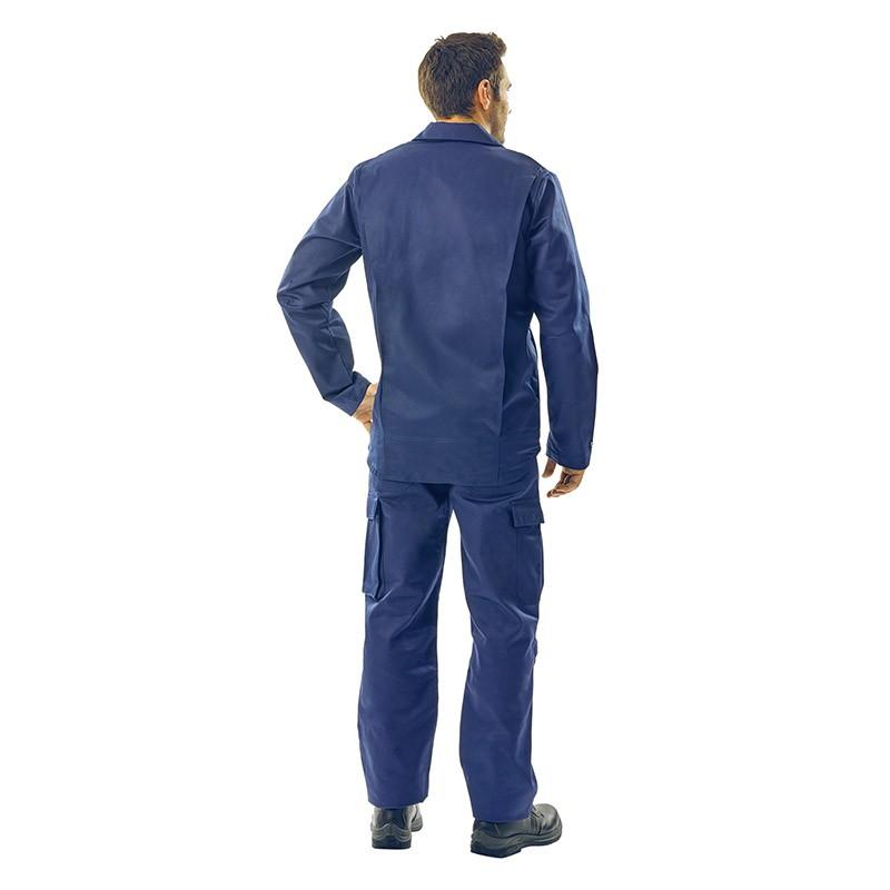Veste et pantalon de travail anti feu Lafont