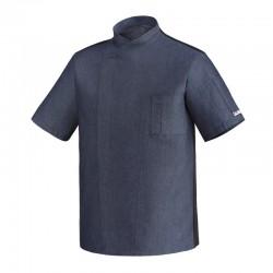 Veste de cuisine Ottavio en Jeans, Manches Longues ou Manches Courtes pour l'été