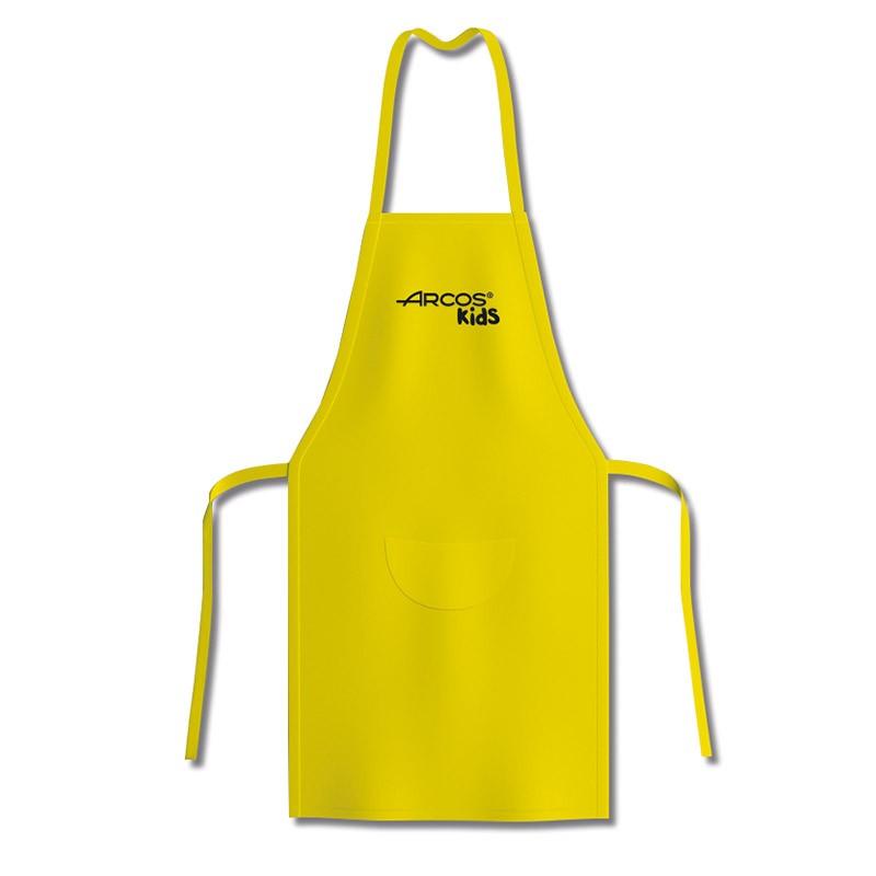 Tablier jaune de cuisine pour enfants Arcos Kids