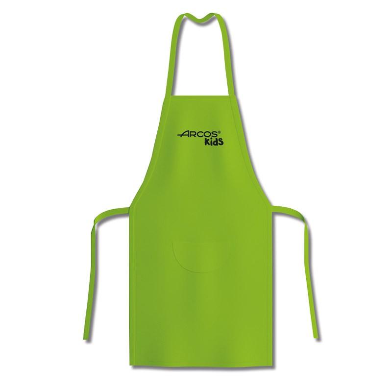 Tablier vert de cuisine pour enfants Arcos Kids