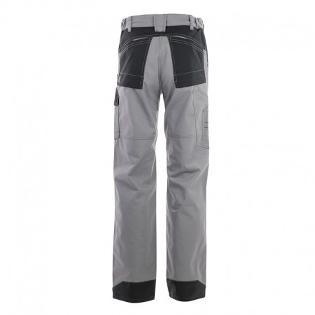 pantalon multipoches protection genoux gris Lafont