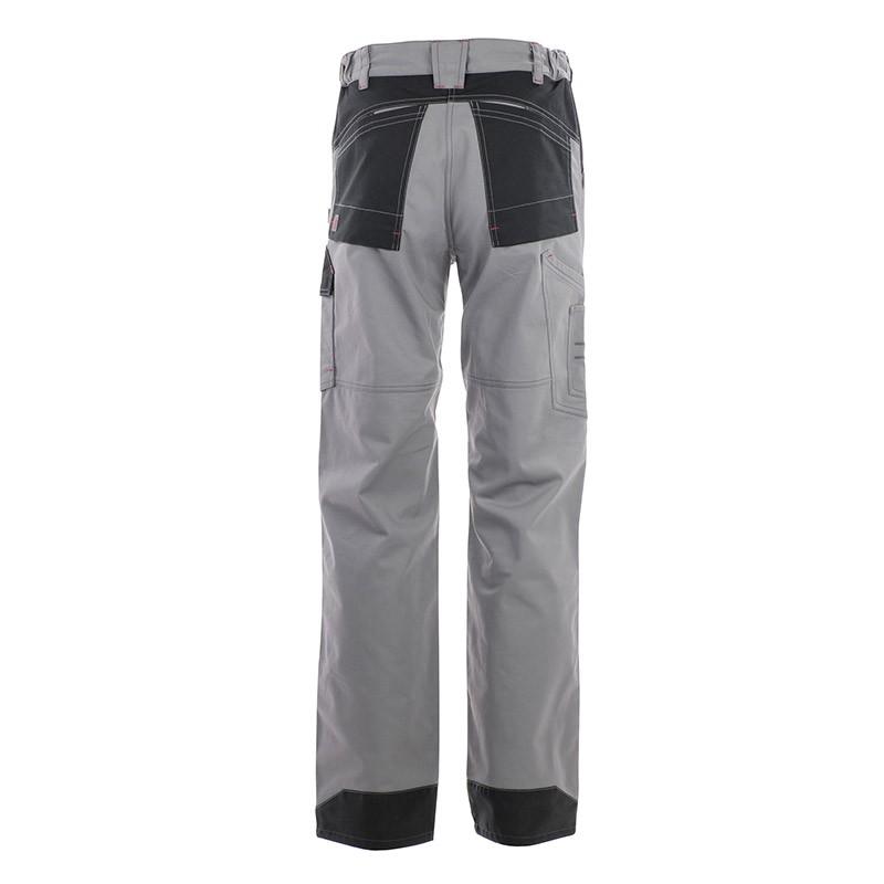 pantalon multipoches protection genoux gris Lafont