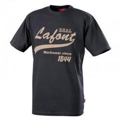 Tee shirt de travail gris Nikan Lafont
